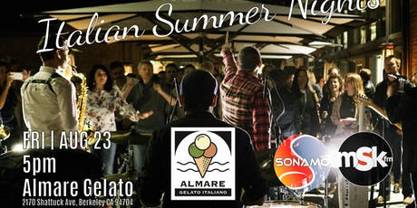 Italian Summer Nights - Berkeley Downtown tickets