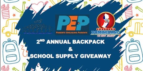 PATERSON PEP 2nd ANNUAL BACKPACK & SCHOOL SUPPLIES GIVEAWAY tickets
