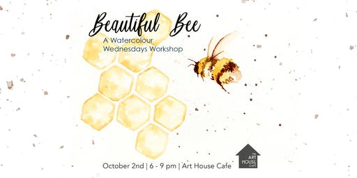 [SOLD OUT] Beautiful Bee - Watercolour Workshop