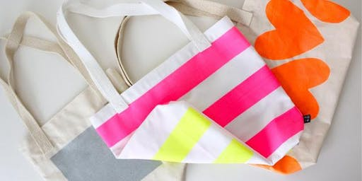 A DIY Workshop: Designing Canvas Tote Bags
