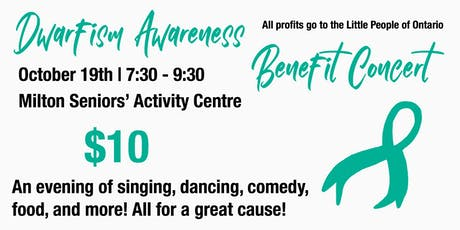 Dwarfism Awareness Benefit Concert (Cancelled) tickets