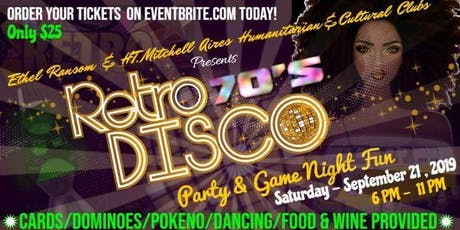 Ethel Ransom & HT Mitchell Aires Retro 70's Party & Game Night tickets