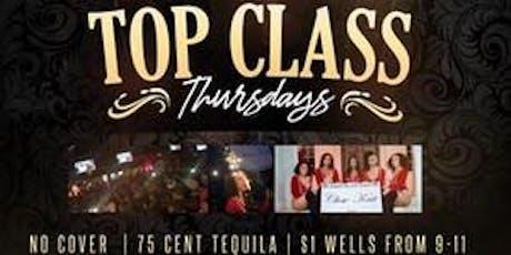 Top Class Thursdays tickets