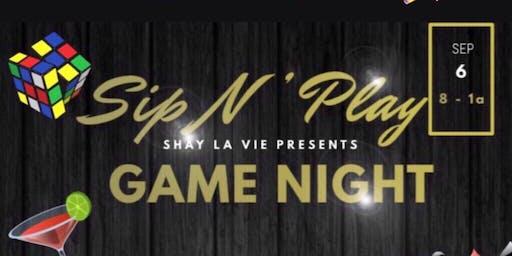 Sip N Play Game Night
