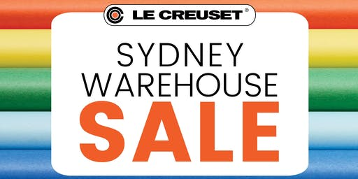 Le Creuset Sydney Warehouse Sale