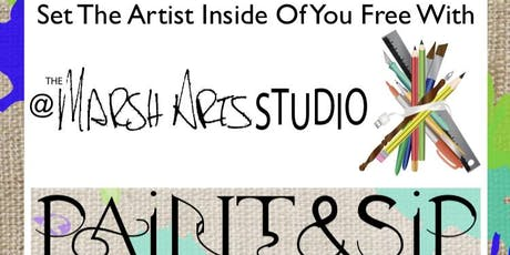 The Marsh Arts Studio Paint and Sip tickets
