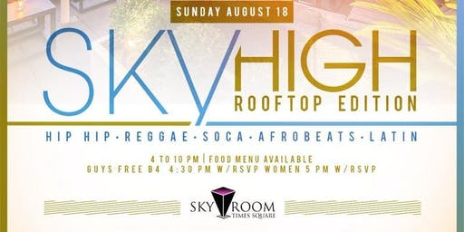 Sky High Rooftop Day Party