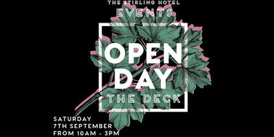 Stirling Hotel Functions Open Day