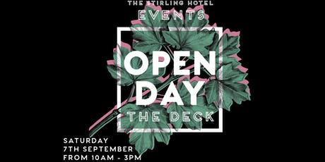 Stirling Hotel Functions Open Day tickets