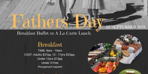 Fathers Day Buffet Breakfast