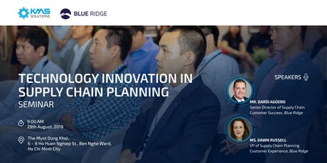 Technology Innovation in Supply Chain Planning tickets