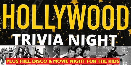 Hollywood Trivia Night - St Joseph's Primary School Laurieton (Plus Free Disco/Movie Night for Kids) tickets