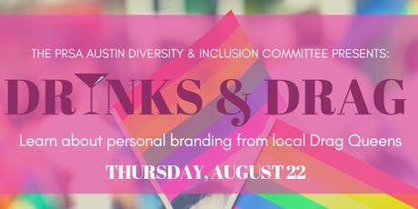 Drinks & Drag!: Learn About Personal Branding from Local Drag Queens tickets