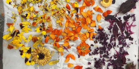 Botanical Bundle Dyeing at Venn tickets