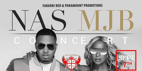 {NAS & MJB Concert} Official After Party tickets