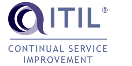 ITIL – Continual Service Improvement (CSI) 3 Days Virtual Live Training in Ottawa tickets