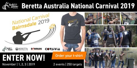 2019 Field & Game Australia National Carnival - 100 Target Prelim. Event tickets