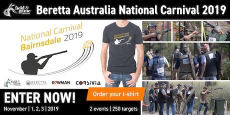 2019 Field & Game Australia Beretta National Carnival - 150 Target Main Event tickets