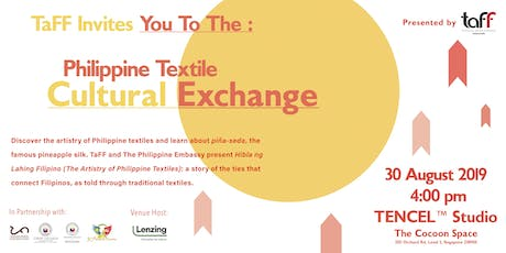 Philippine Textile Cultural Exchange tickets