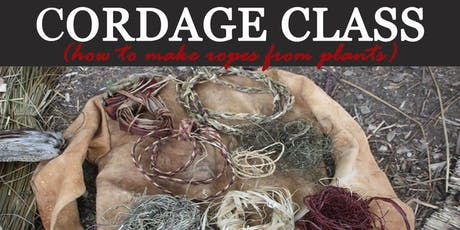 Cordage Class: make ropes from plants tickets