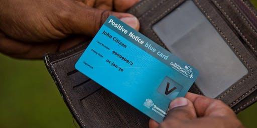 Blue Card Information Session: Gold Coast Community Hub
