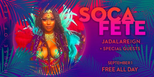 Soca Fete: Caribbean Day Party