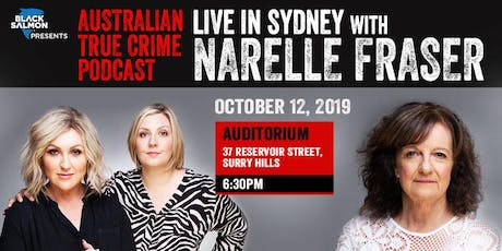 Australian True Crime Podcast: Live in Sydney with Narelle Fraser tickets