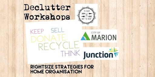 Declutter Workshop 2: Reclaim Your Space!