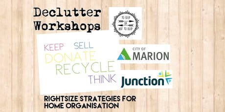 Declutter Workshop 4: You Are Your Memories! tickets
