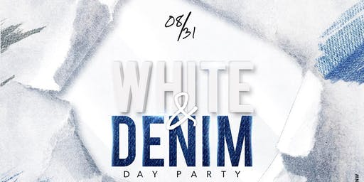 Cotton Candy DC (White & Denim Day Party)