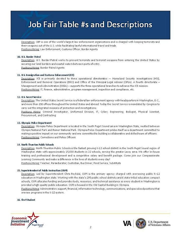 Economic Investment Initiative: Puget Sound 2019 image