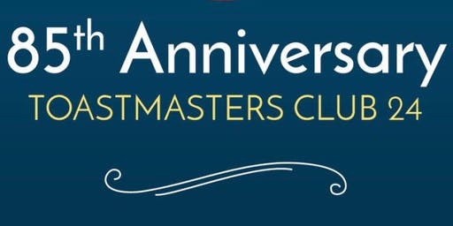 Ventura Toastmasters Club 24 85th Anniversary Brunch