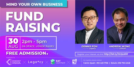 Mind Your Own Business: Fund Raising (AUG JB) tickets