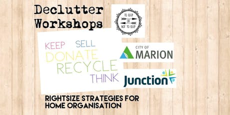 Declutter Workshop 5: There's No Place Like Home! tickets