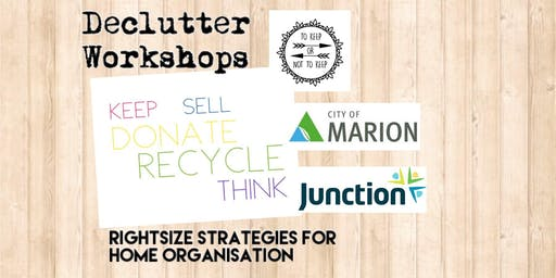 Declutter Workshop 5: There's No Place Like Home!