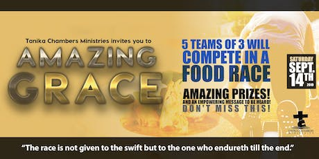 The Amazing Grace Food Race! tickets