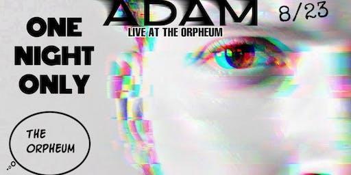 Adam: Live At The Orpheum