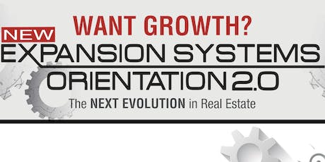 Expansion Systems Orientation 2.0 (ESO 2.0) with Kristan Cole in Chino Hills, CA tickets
