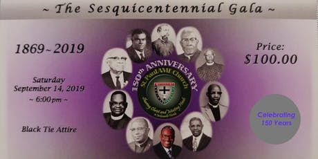 The Sesquicentennial Gala - Saint Paul AME Jacksonville tickets