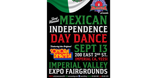Mexican Independence Day Dance 21 years and older only.  Valid ID Required
