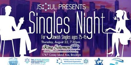 JSOUL Singles Night tickets