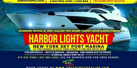 "DJ NORIE ""REP WHERE YOU'RE FROM"" ANYTHING GOES LIVE EDITION AFTER WORK BOAT RIDE tickets"