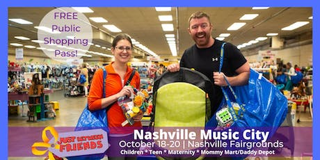 (FREE) PUBLIC ADMISSION | Fall 2019 - Nashville Music City JBF  tickets