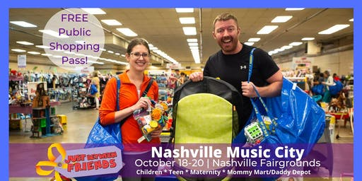 (FREE) PUBLIC ADMISSION | Fall 2019 - Nashville Music City JBF