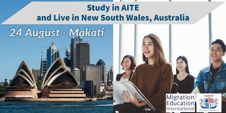 Study in AITE and Live in New South Wales, Australia (MAKATI) tickets