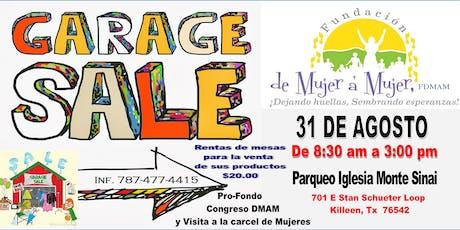GARAJE SALE  FUNDACION DE MUJER A MUJER tickets