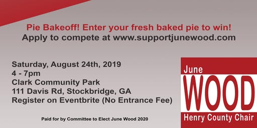 June Wood 2020 Re-Election Kickoff Event