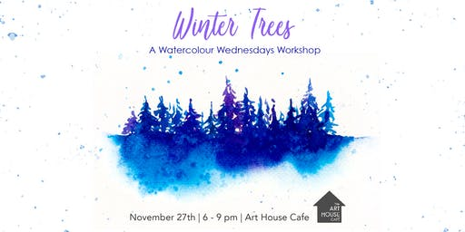 [SOLD OUT] Winter Trees - Watercolour Workshop