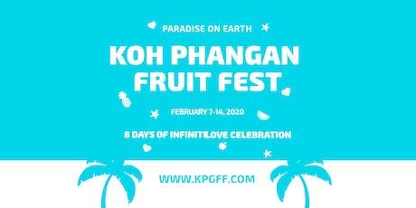 Koh Phangan Fruit Fest 2020 tickets