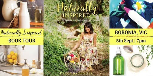 Naturally Inspired Author Talk – Boronia, VIC